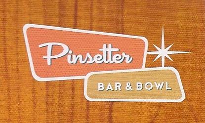 Pinsetter Bar & Bowl